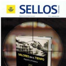 Sellos: SELLOS - BOLETÍN DEL SERVICIO FILATÉLICO DE CORREOS Nº 61. SEPTIEMBRE 2020-3. Lote 222131021