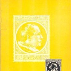 Francobolli: VATICAN STAMPS - ERNEST A. KEHR - 1956. Lote 222235765