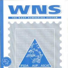 Sellos: WNS. THE WADP NUMBERING SYSTEM. Lote 222238371