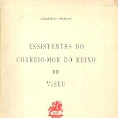 Sellos: ASSISTENTES DO CORREIO-MOR DO REINO EN VISEU - LISBOA, 1960 - GOFOFEDRO FERREIRA. Lote 222254043