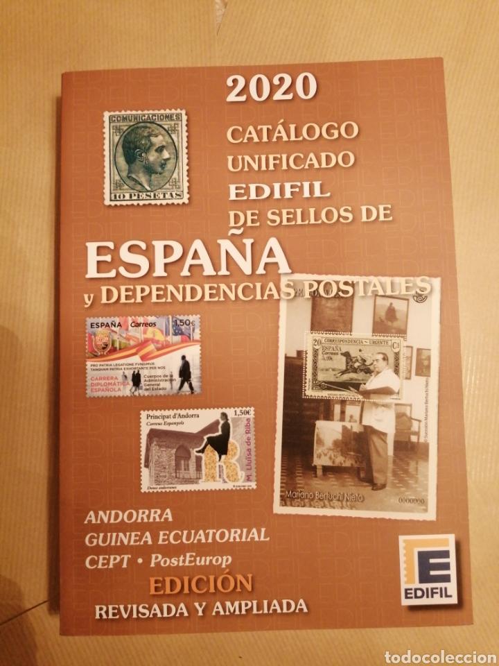 CATALOGO SELLOS ESPAÑA Y DEPENDENCIAS POSTALES 2020 (Filatelia - Sellos - Catálogos y Libros)
