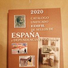 Sellos: CATALOGO SELLOS ESPAÑA Y DEPENDENCIAS POSTALES 2020. Lote 222400926
