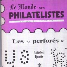 Francobolli: LE MONDE DES PHILATELISTES. AÑO 1982 COMPLETO. (REV. MENSUAL). FILATELIA. Lote 223535022
