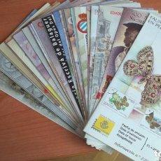 Francobolli: DIPTICOS INFORMATIVOS SERVICIO FILATELICO DE CORREOS AÑO 2000. Lote 223715216