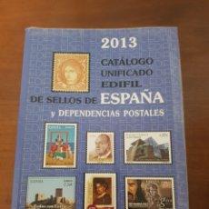 Francobolli: CATÁLOGO UNIFICADO EDIFIL DE SELLOS DE ESPAÑA. Lote 224769433