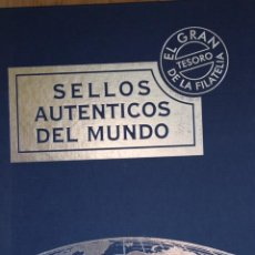 Sellos: SELLOS AUTÉNTICOS DEL MUNDO AFINSA EL GRAN TESORO DE LA FILATELIA. Lote 224775228
