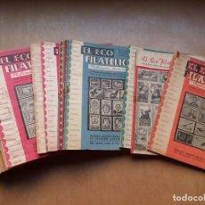 Sellos: EL ECO FILATELICO, 33 REVISTAS - AÑOS 1959-1960-1961, VER FOTOS ADICIONALES. Lote 224825796