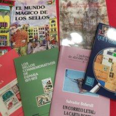 Francobolli: LOTE DE 6 LIBRITOS FILATELICOS. Lote 224866386