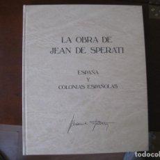 Francobolli: LA OBRA DE JEAN DE SPERATI, 1983, EN PERFECTO ESTADO, VER DESCRIPCION Y FOTOS ADICCIONALES. Lote 225488120