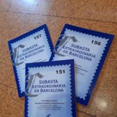Francobolli: CONTINENTAL SUBASTAS FILATÉLICAS. 3 CATÁLOGOS 2012 - 2013. Lote 225808250