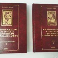 Sellos: LOTE DE 2 HISTORIA POSTAL ANTIGUAS DEPENDENCIAS ESPAÑOLAS EN ÁFRICA FRANCISCO ARACIL. Lote 226434665