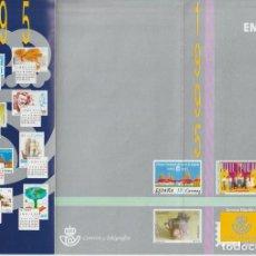 Selos: ESPAÑA. FOLLETO EMISIONES DE SELLOS 1995. SERVICIO FILATÉLICO. Lote 227023875