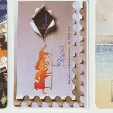 Selos: ESPAÑA. CALENDARIOS DE BOLSILLO. SERVICIO FILATÉLICO. AÑOS 1998, 2000 Y 2001. Lote 227026685