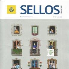 Francobolli: SELLOS Y MUCHO MÁS 60 2020 REVISTA INCLUYE FICHAS NUEVOS SELLOS ANTIGUAS RUTAS POSTALES EN ESPAÑA. Lote 228100010