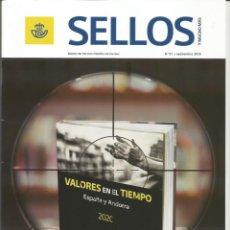Francobolli: SELLOS Y MUCHO MÁS 61 2020 REVISTA INCLUYE FICHAS NUEVOS SELLOS - GUERRAS CARLISTAS. Lote 228100360