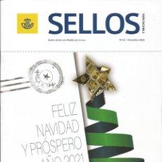 Francobolli: SELLOS Y MUCHO MÁS 62 2020 REVISTA INCLUYE FICHAS NUEVOS SELLOS - MAIL ART GOYA VIAJERO GRAND TOUR. Lote 228100800