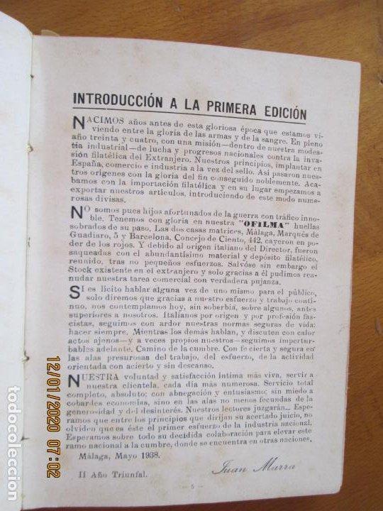 Sellos: OFILMA - CATALOGO DE SELLOS DE CORREOS EMITIDOS DESDE EL 17 DE JULIO 1936 - Foto 3 - 228512190