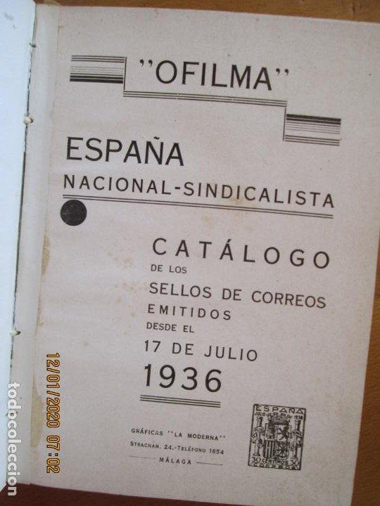 OFILMA - CATALOGO DE SELLOS DE CORREOS EMITIDOS DESDE EL 17 DE JULIO 1936 (Filatelia - Sellos - Catálogos y Libros)