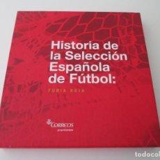 Sellos: ER * HISTORIA DE LA SELECCION ESPAÑOLA DE FUTBOL * CORREOS. Lote 231246605