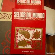 Sellos: SELLOS DEL MUNDO GRAN ENCICLOPEDIA DE LA FILATELIA. Lote 235308490
