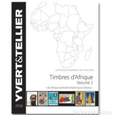Sellos: YVERT ET TELLIER, CATÁLOGO DE AFRICA. TOMO I (AFRICA CENTRAL BRITÁNICA A GHANA). Lote 235732170