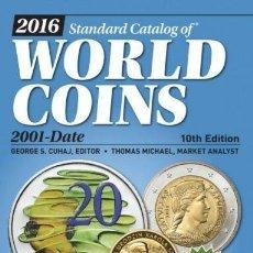Sellos: WORDL COINS,CATÁLOGO 2001/DATE. 1056 PÁGINAS. PRECIOS ACTUALIZADOS.. Lote 235980885
