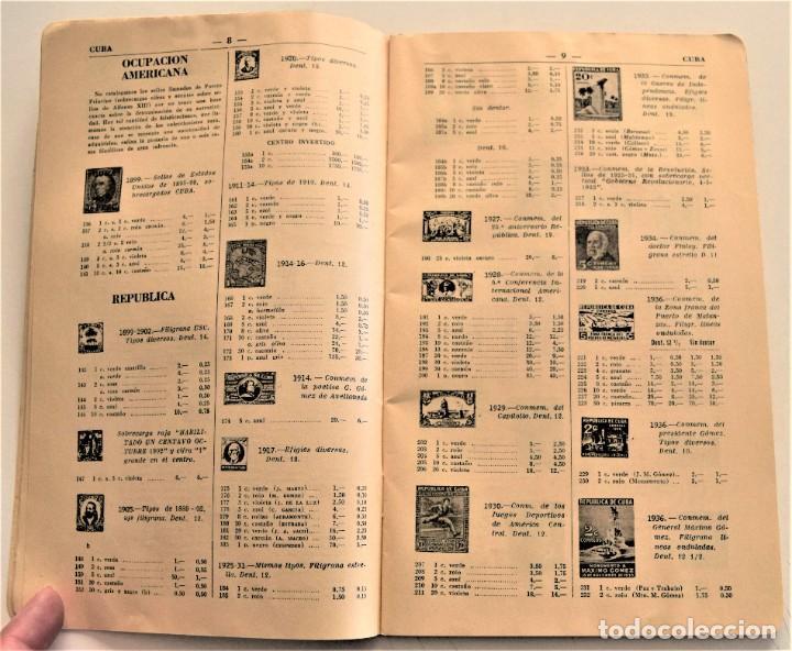 Sellos: HEVIA - CATÁLOGO DE COLONIAS Y EX-COLONIAS ESPAÑOLAS - AÑO 1951 - ABUNDANTES ILUSTRACIONES - Foto 5 - 236488230