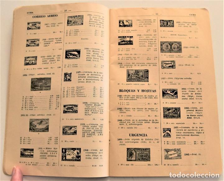 Sellos: HEVIA - CATÁLOGO DE COLONIAS Y EX-COLONIAS ESPAÑOLAS - AÑO 1951 - ABUNDANTES ILUSTRACIONES - Foto 6 - 236488230
