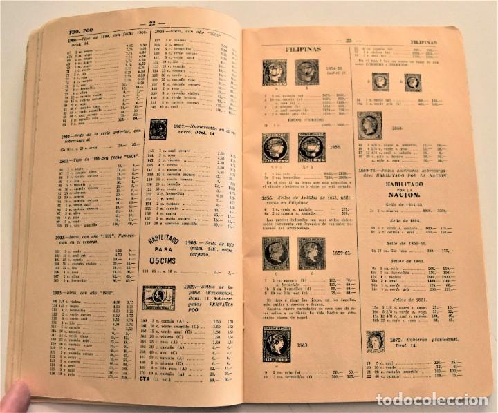 Sellos: HEVIA - CATÁLOGO DE COLONIAS Y EX-COLONIAS ESPAÑOLAS - AÑO 1951 - ABUNDANTES ILUSTRACIONES - Foto 7 - 236488230