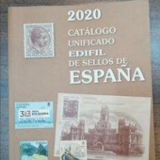 Timbres: CATÁLOGO UNIFICADO EDIFIL DE SELLOS DE ESPAÑA 2020 - NUEVO. Lote 280491748