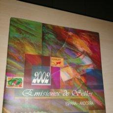 Sellos: EMISIONES DE SELLOS ESPAÑA - ANDORRA 2002. Lote 239606865