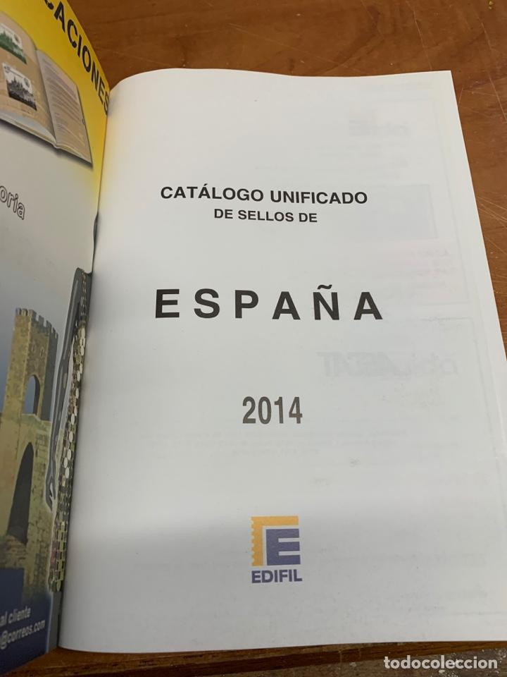 Sellos: Catálogo unificado edifil de sellos españoles - Foto 2 - 240793625