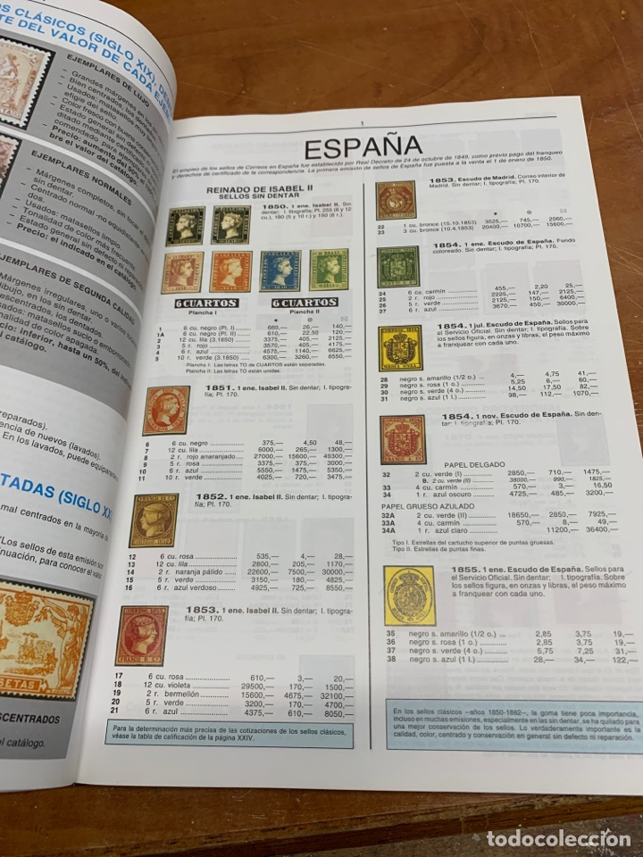 Sellos: Catálogo unificado edifil de sellos españoles - Foto 3 - 240793625