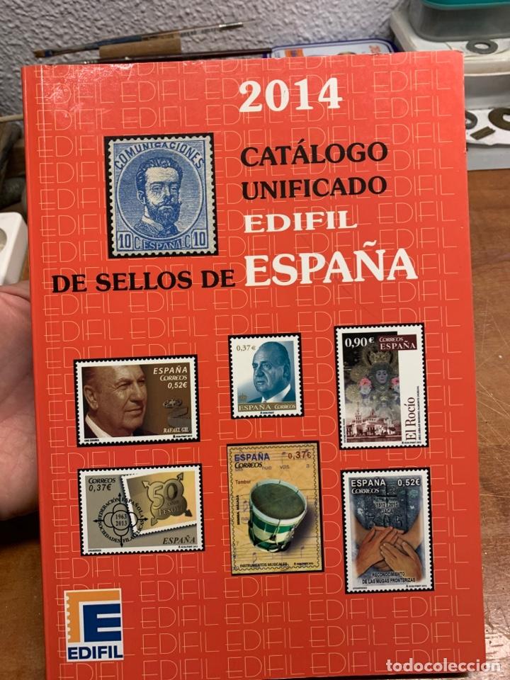 CATÁLOGO UNIFICADO EDIFIL DE SELLOS ESPAÑOLES (Filatelia - Sellos - Catálogos y Libros)