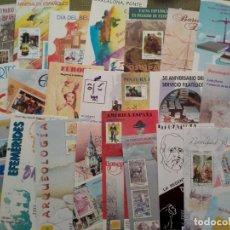 Sellos: LOTE DE FOLLETOS EMISION DE SELLOS 1996 (23) -SERVICIO FILATELICO ESPAÑA. Lote 243944850