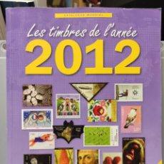 Sellos: CATÁLOGO DE NOVEDADES MUNDIALES 2012. YVERT Y TELLIER. Lote 245023815