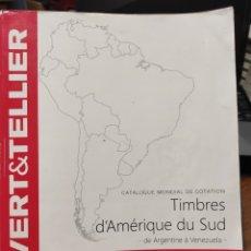 Sellos: CATÁLOGO YVERT 2014. SUDAMÉRICA.. Lote 245024055