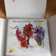 Sellos: LIBRO SELLOS DE ESPAÑA Y ANDORRA 2007. Lote 245111560