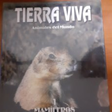Sellos: LIBRO TIERRA VIVA MAMIFERO 1. Lote 245187330