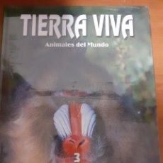 Sellos: LIBRO TIERRA VIVA MAMIFERO3. Lote 245189095