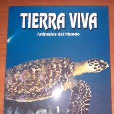 Sellos: LIBRO TIERRA VIVA RESTILES Y ANFIBIOS. Lote 245194710