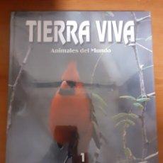 Sellos: LIBRO TIERRA VIVA AVES 1. Lote 245197565