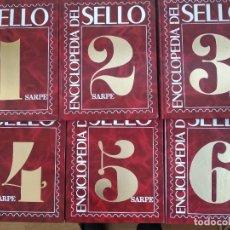 Sellos: ENCICLOPEDIA DEL SELLO SARPE 6 TOMOS. Lote 245290135