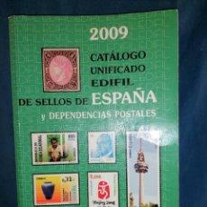 Sellos: ESPAÑA EDIFIL CATALOGO SELLOS IMPRESCINDIBLE CON 500 PAGINAS INCLUYE EXCOLONIAS ,ANDORRA,ETC. Lote 248416395