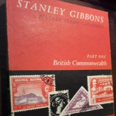 Sellos: CATÁLOGO SELLOS.STANLEY GIBBONS.1968.CATALOGUE STAMPS POSTAGES.TIENE SELLOS. Lote 254103505
