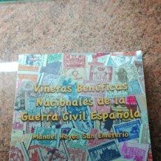 Francobolli: LIBRO FILATÉLICO VIÑETAS BENÉFICAS NACIONALES DE LA GUERRA CIVIL ESPAÑOLA. Lote 254429105