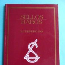 Francobolli: FILATELIA - CATALOGO SUBASTA ANGEL LAIZ MADRID - 21 FEBRERO 1991 - SELLOS RAROS. Lote 257890945