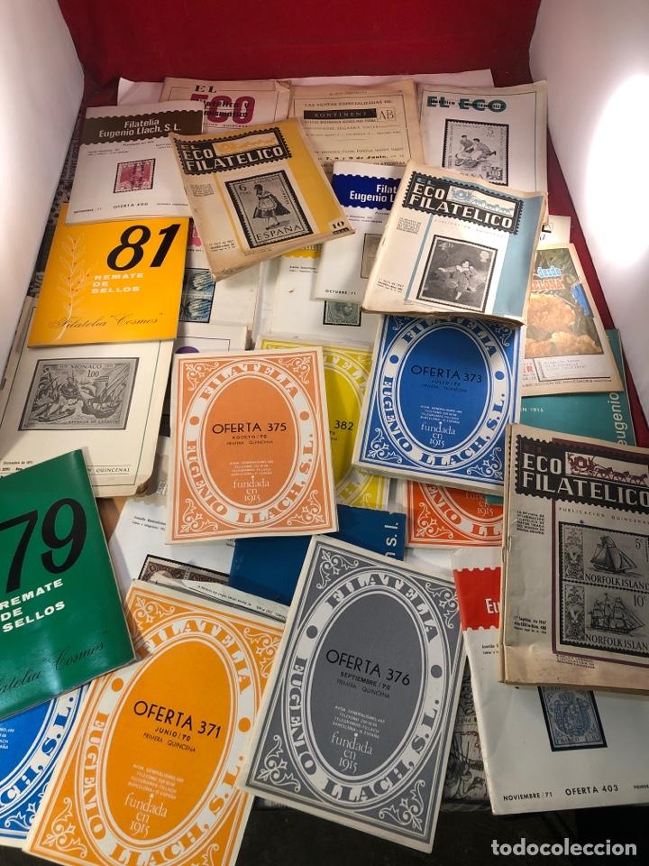 GRAN LOTE DE CATÁLOGOS DE FILATELIA (Filatelia - Sellos - Catálogos y Libros)