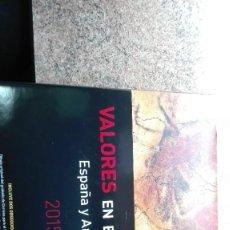 Francobolli: LIBRO X SELLOS COMPLETO ESPAÑA Y ANDORRA 2015-VALORES EN EL TIEMPO. Lote 259012860