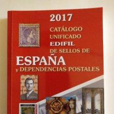Francobolli: CATÁLOGO UNIFICADO DE SELLOS DE ESPAÑA Y DEPENDENCIAS POSTALES 2017 - EDIFIL, S.A. - 2016. Lote 259020480